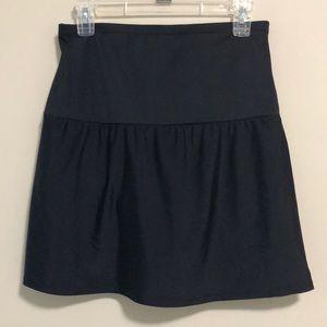 St. John's Bay Swim Skirt Black SZ 14 NWT